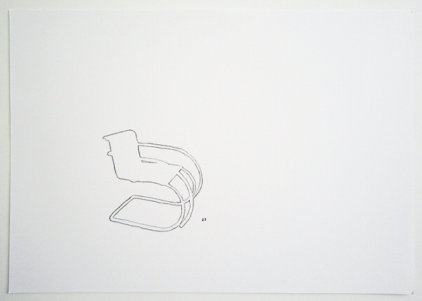 draw_Mies van der Rohe_Cantilever chair
