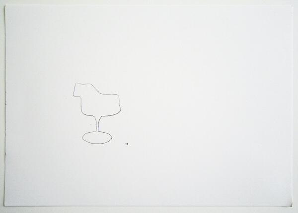 draw_Tulip chair